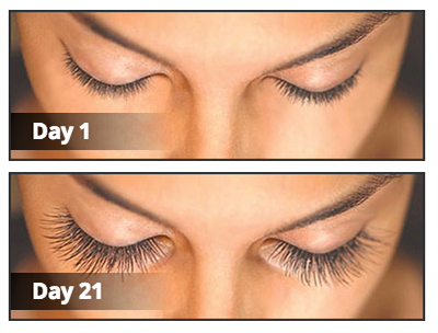 idol lash before and after