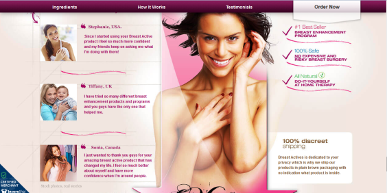 breast actives money back guarantee