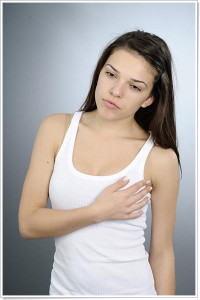 breast tenderness before period