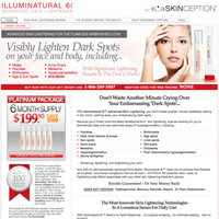 website of illuminuatural 6i